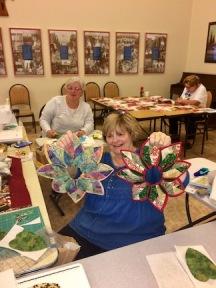 Kathy's popular wreathes.