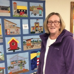 The Block of the Monthers showed off their completed works.
