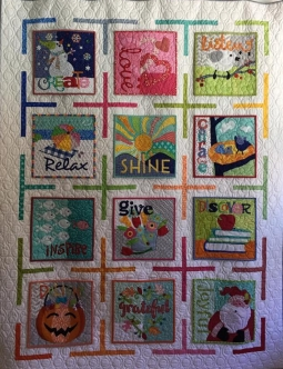 A Quilted Year of Cheer Opportunity Quilt